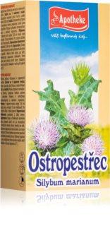 Apotheke Ostropestřec bylinný detoxikační čaj pro podporu trávení