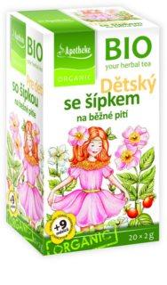 Apotheke  BIO Dětský čaj se šípkem bylinný čaj v BIO kvalitě
