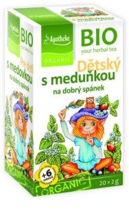 Apotheke Dětský čaj s meduňkou na dobrý spánek
