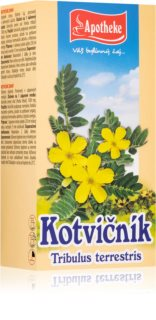 Apotheke Kotvičník čaj podpora normální funkce močové soustavy a hormonální aktivity