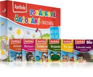 Apotheke Pohádkové čajování dětské kolekce ovocných čajů pro děti