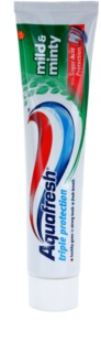 Aquafresh Triple Protection Mild & Minty dentifrice