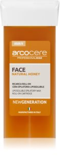 Arcocere Professional Wax Face Natural Honey Hair Removal Wax for Face