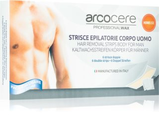 Arcocere Deepline Wax Strips for Hair Removal