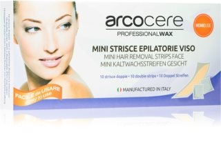 Arcocere Deepline Wax Strips for Hair Removal for Face