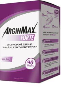 ArginMax Forte doplněk stravy pro dlouhodobé zlepšení sexuálního prožitku a prokrvení pohlavních orgánů