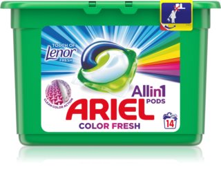 Ariel Color Touch Of Lenor Dosettes de lessive