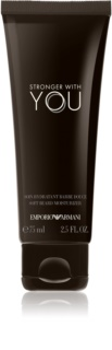 Armani Emporio Stronger With You crema para barba para hombre