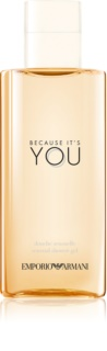 Armani Emporio Because It's You gel de dus pentru femei 200 ml