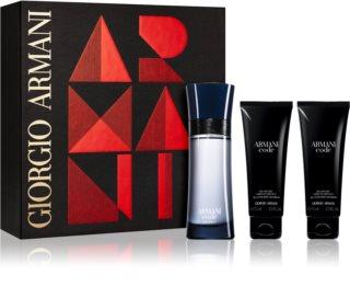 Armani Code Colonia set cadou III. pentru bărbați