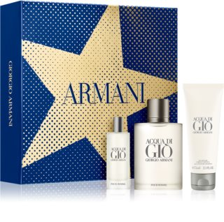 Armani Acqua di Giò set cadou III. pentru bărbați