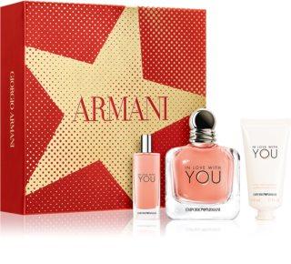 Armani Emporio In Love With You darčeková sada IX. pre ženy