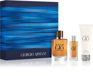 Armani Acqua di Giò Absolu set cadou pentru bărbați