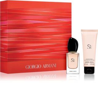 Armani Sì  set cadou II. pentru femei