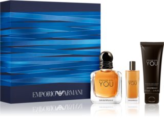 Armani Emporio Stronger With You poklon set za muškarce