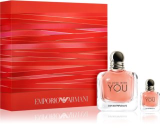 Armani Emporio In Love With You darčeková sada Xl. pre ženy