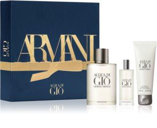 Armani Acqua di Gio Pour Homme darilni set II. za moške