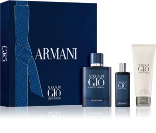 Armani Acqua di Giò Profondo darčeková sada pre mužov