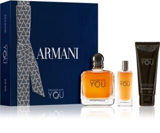 Armani Emporio Stronger With You dárková sada pro muže