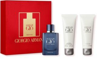 Armani Acqua di Giò Profondo σετ δώρου για άντρες