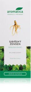 Aromatica Sibiřský ženšen bylinné kapky dobrá kondice