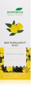 Aromatica Pupalkový olej s vitamínem E doplněk stravy pro udržení normální hladiny cholesterolu v krvi