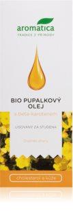 Aromatica Pupalkový olej s beta-karotenem a vitaminem E zdravá a elastická kůže