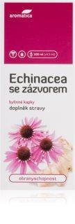 Aromatica Echinacea se zázvorem bylinné kapky pro posílení imunity