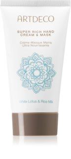 Artdeco Asian Spa White Lotus & Rice Milk tiefenwirksame regenerierende Creme für die Hände