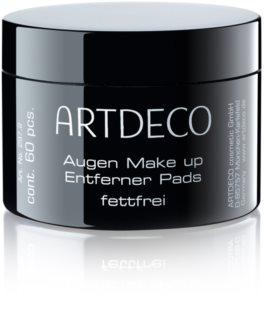 Artdeco Eye Makeup Remover Tampons zum Abschminken ohne Ölgehalt