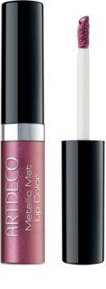 Artdeco Metallic Mat Lip Color hosszantartó folyékony rúzs matt hatással