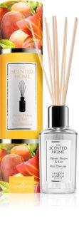 Ashleigh & Burwood London The Scented Home Peach & Lilly dyfuzor zapachowy z napełnieniem