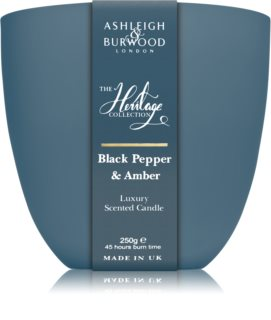 Ashleigh & Burwood London The Heritage Collection Black Pepper & Amber illatos gyertya