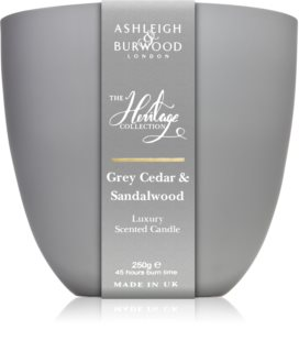 Ashleigh & Burwood London The Heritage Collection Grey Cedar & Sandalwood vonná svíčka