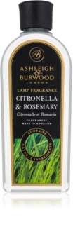 Ashleigh & Burwood London Lamp Fragrance Citronella & Rosemary rezervă lichidă pentru lampa catalitică