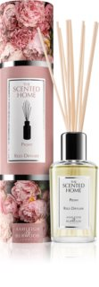 Ashleigh & Burwood London The Scented Home Peony aroma diffuser met vulling