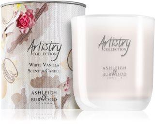 Ashleigh & Burwood London Artistry Collection White Vanilla vela perfumada