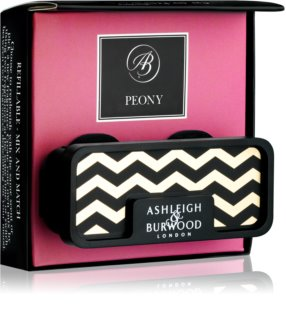 Ashleigh & Burwood London Car Peony  autoduft Clip
