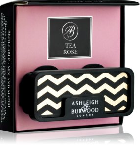 Ashleigh & Burwood London Car Tea Rose désodorisant voiture clip