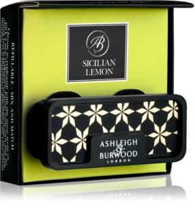 Ashleigh & Burwood London Car Sicilian Lemon désodorisant voiture clip