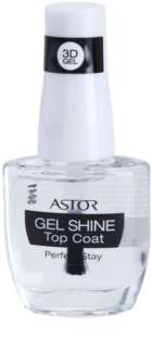 Astor Perfect Stay 3D Gel Shine verniz de cobertura protetor para dar brilho