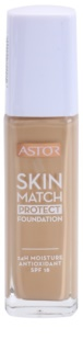 Astor Skin Match Protect hydratační make-up SPF 18