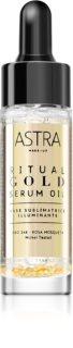 Astra Make-up Ritual Gold Serum Oil Illuminating Makeup Primer With 24 Carat Gold