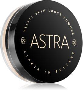 Astra Make-up Velvet Skin aufhellender, loser Puder für einen samtenen Look der Haut