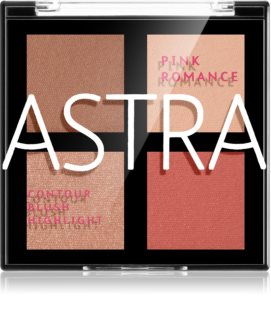 Astra Make-up Romance Palette Konturier-Palette für die Wangen für das Gesicht