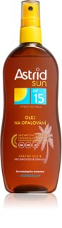 Astrid Sun olio abbronzante in spray SPF 15