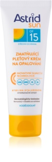 Astrid Sun Matte Sunscreen On Your Face SPF 15