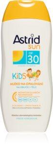 Astrid Sun dětské mléko na opalování SPF 30