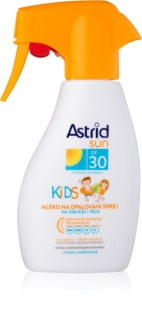 Astrid Sun Kids Spray-on solskyddsmedel för barn SPF 30