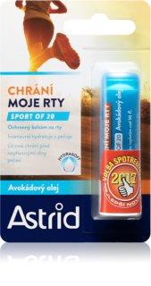 Astrid Lip Care Sport of 20 zaštitni balzam za usne (limitirana serija)